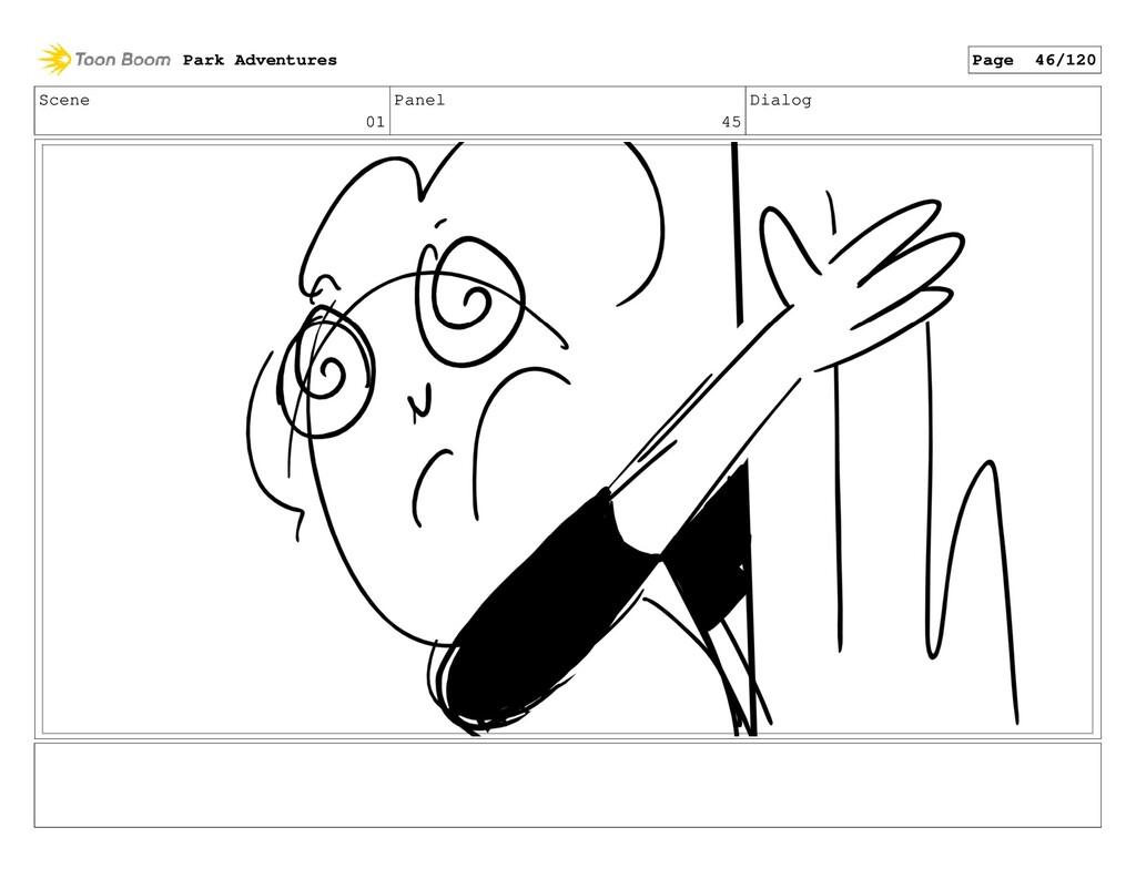 Scene 01 Panel 45 Dialog Park Adventures Page 4...