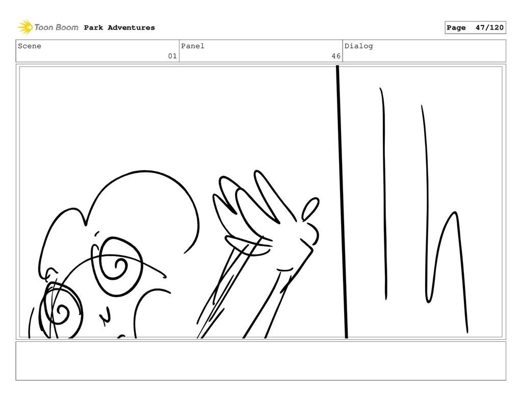 Scene 01 Panel 46 Dialog Park Adventures Page 4...