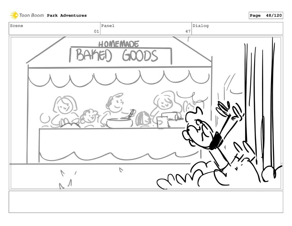 Scene 01 Panel 47 Dialog Park Adventures Page 4...