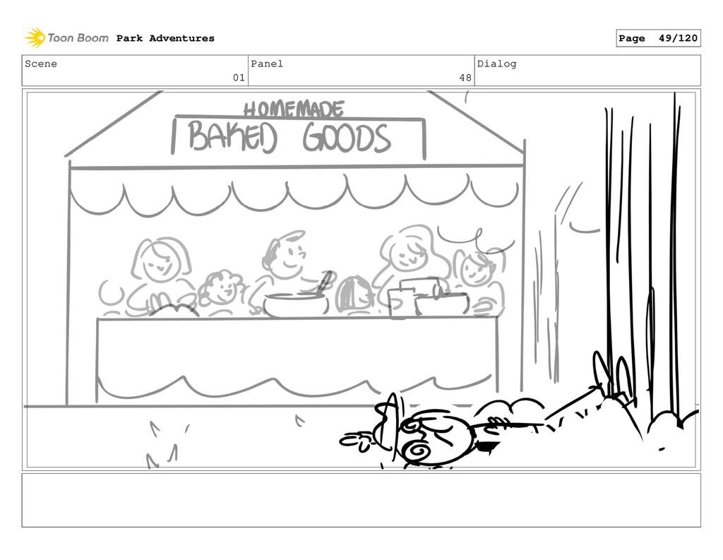 Scene 01 Panel 48 Dialog Park Adventures Page 4...