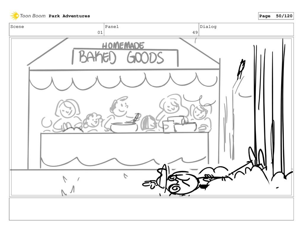 Scene 01 Panel 49 Dialog Park Adventures Page 5...