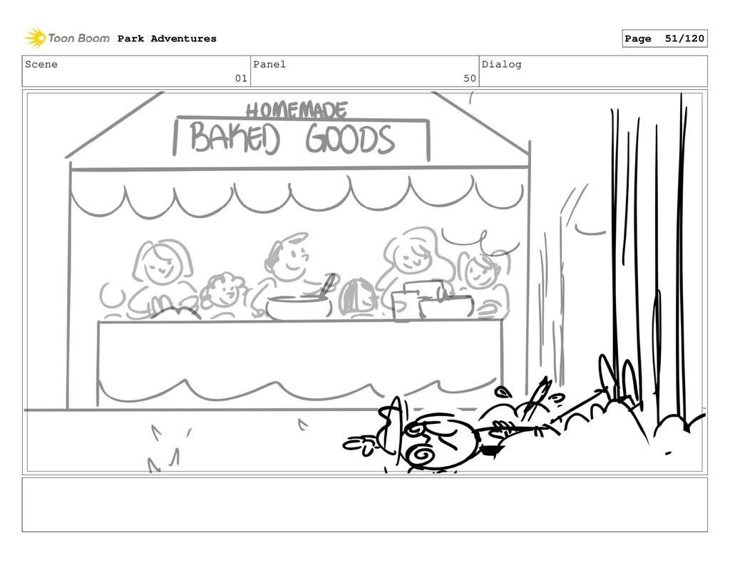 Scene 01 Panel 50 Dialog Park Adventures Page 5...