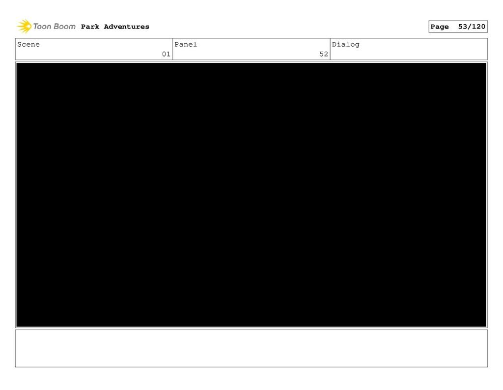 Scene 01 Panel 52 Dialog Park Adventures Page 5...