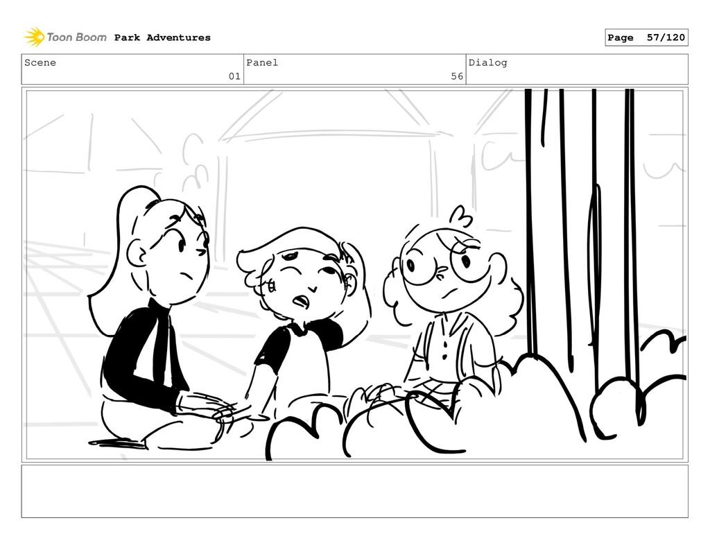 Scene 01 Panel 56 Dialog Park Adventures Page 5...