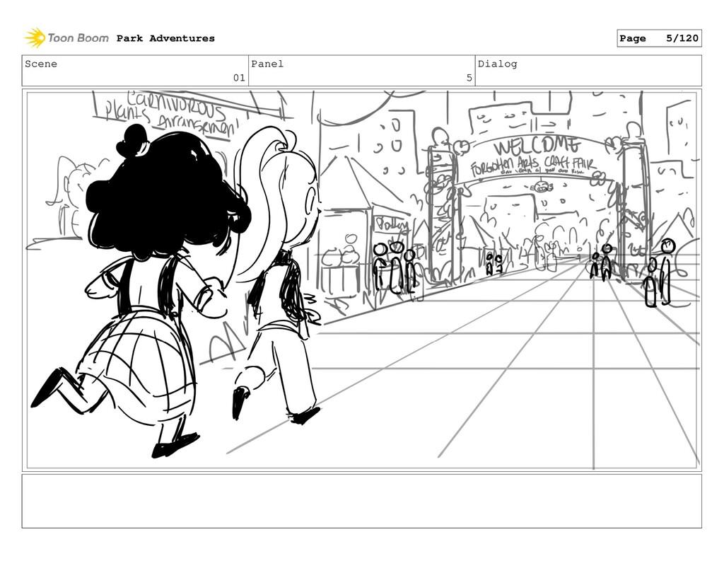 Scene 01 Panel 5 Dialog Park Adventures Page 5/...