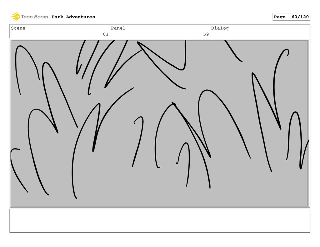 Scene 01 Panel 59 Dialog Park Adventures Page 6...