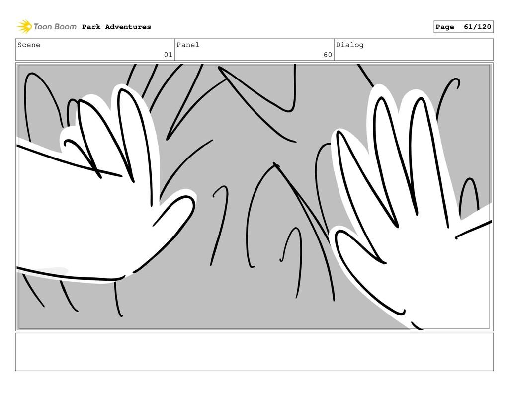 Scene 01 Panel 60 Dialog Park Adventures Page 6...