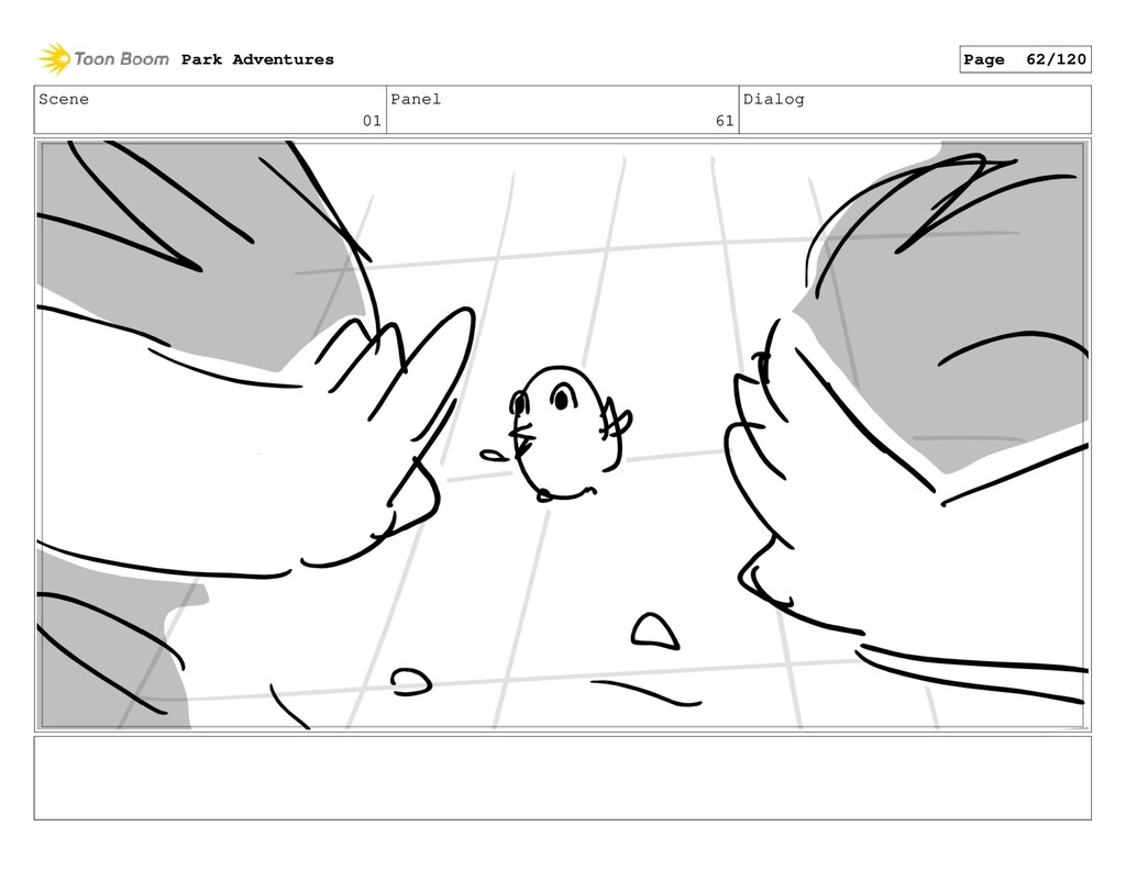 Scene 01 Panel 61 Dialog Park Adventures Page 6...