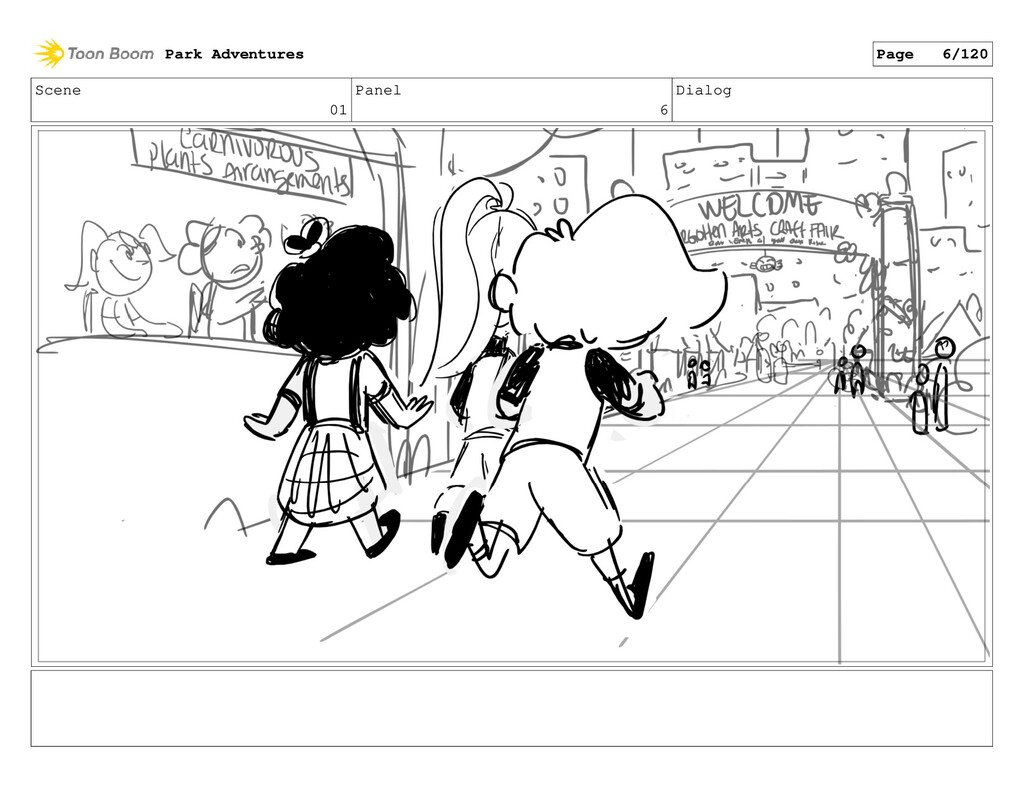 Scene 01 Panel 6 Dialog Park Adventures Page 6/...