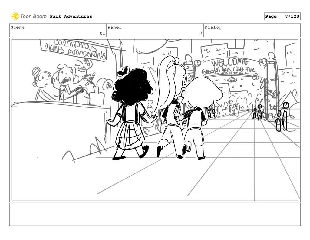Scene 01 Panel 7 Dialog Park Adventures Page 7/...