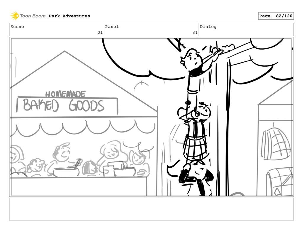Scene 01 Panel 81 Dialog Park Adventures Page 8...