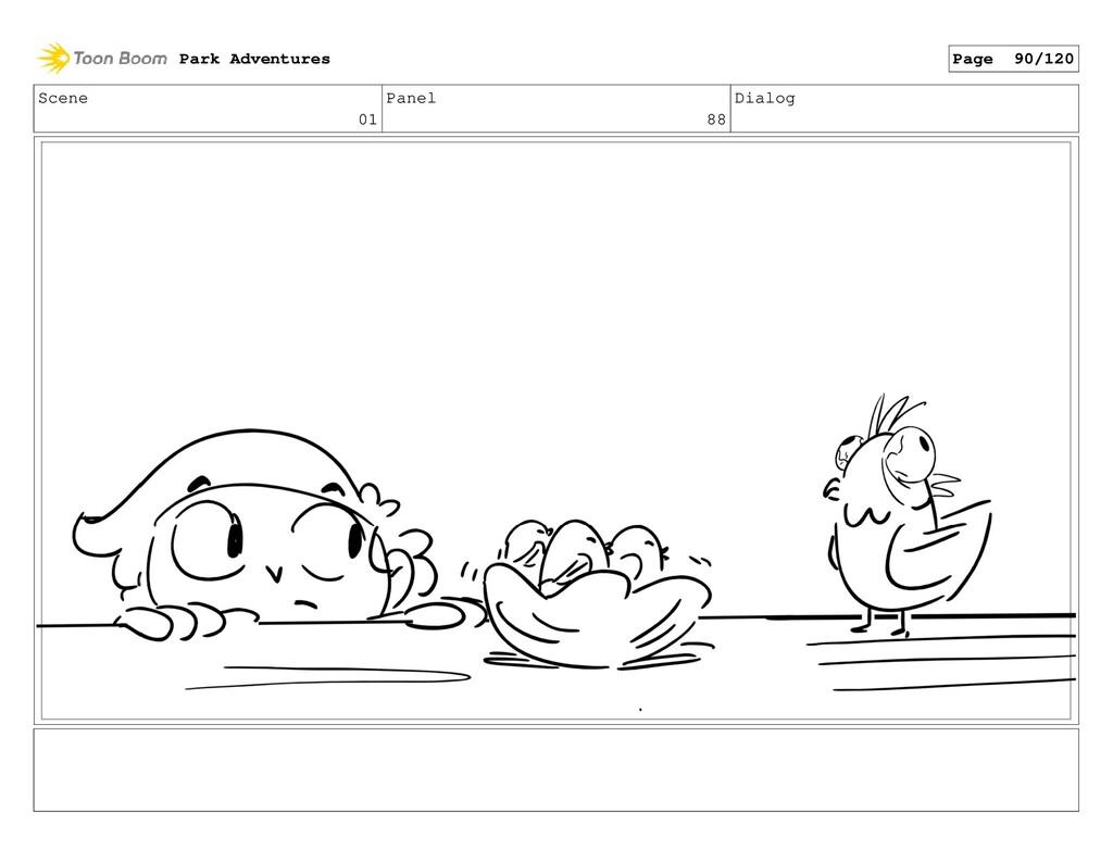 Scene 01 Panel 88 Dialog Park Adventures Page 9...