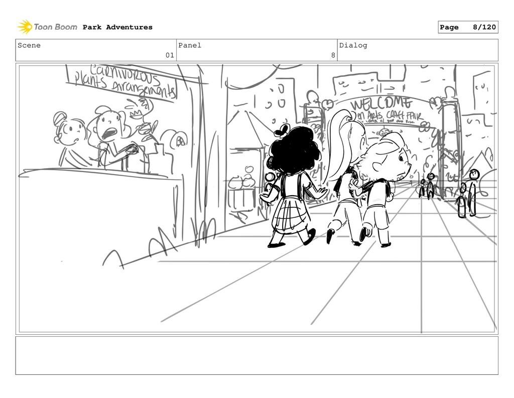 Scene 01 Panel 8 Dialog Park Adventures Page 8/...