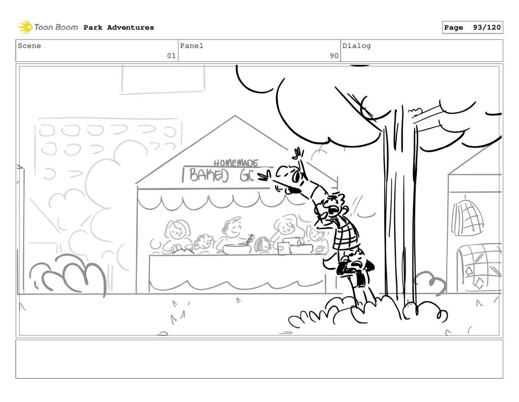 Scene 01 Panel 90 Dialog Park Adventures Page 9...
