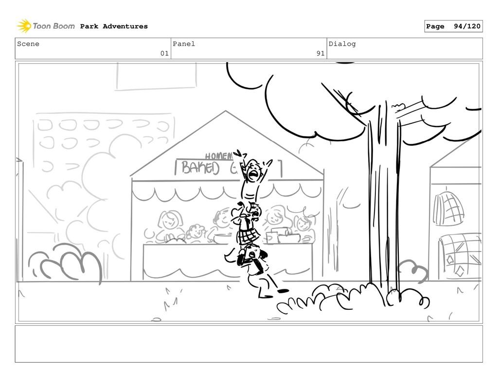 Scene 01 Panel 91 Dialog Park Adventures Page 9...
