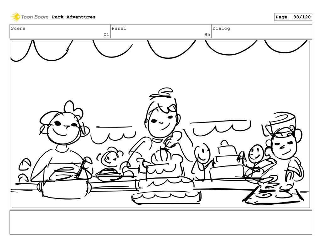 Scene 01 Panel 95 Dialog Park Adventures Page 9...