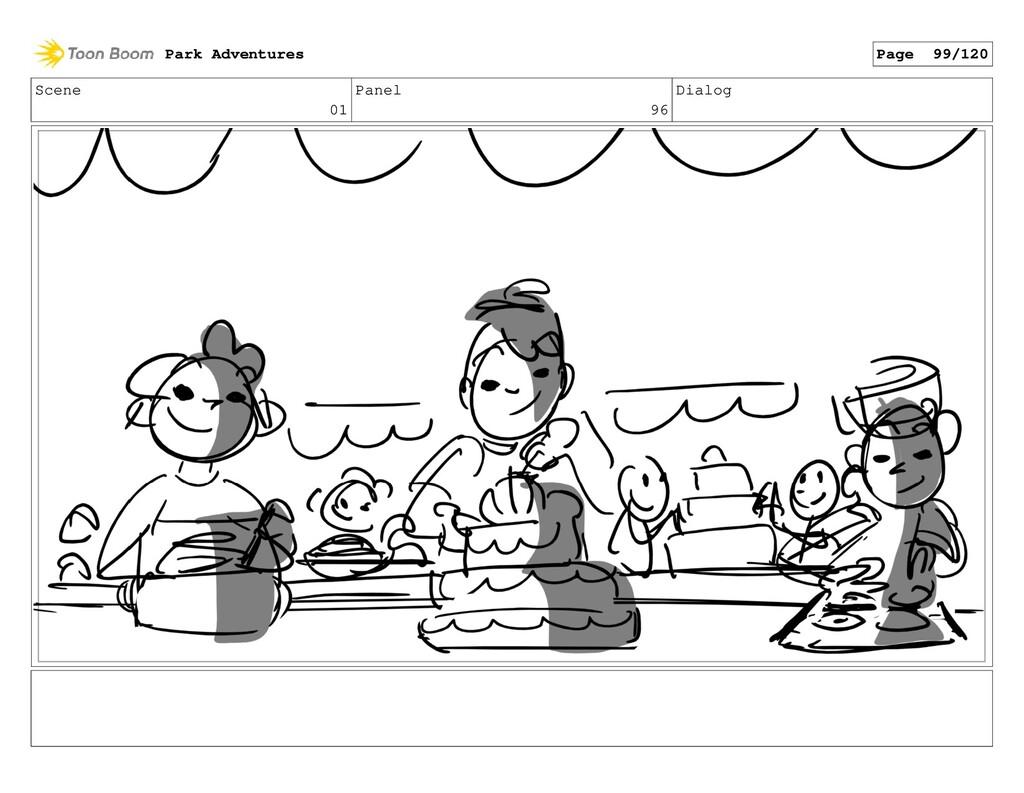 Scene 01 Panel 96 Dialog Park Adventures Page 9...