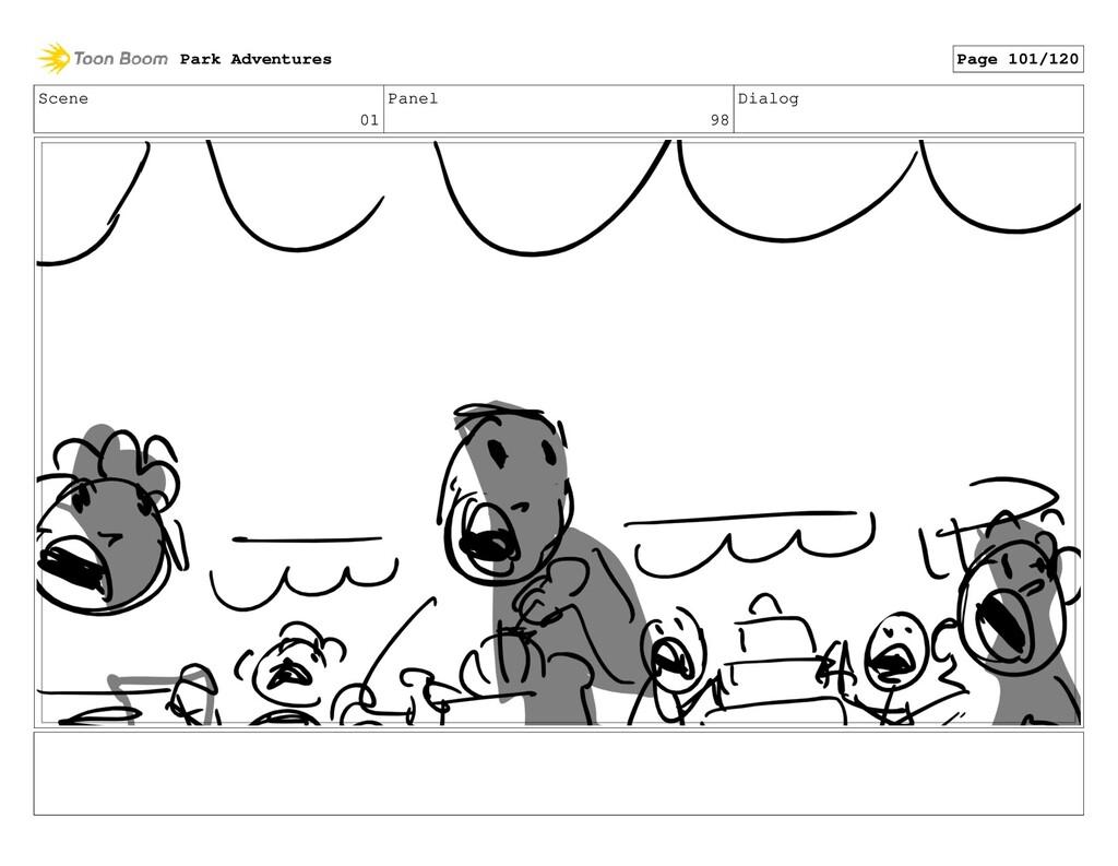 Scene 01 Panel 98 Dialog Park Adventures Page 1...
