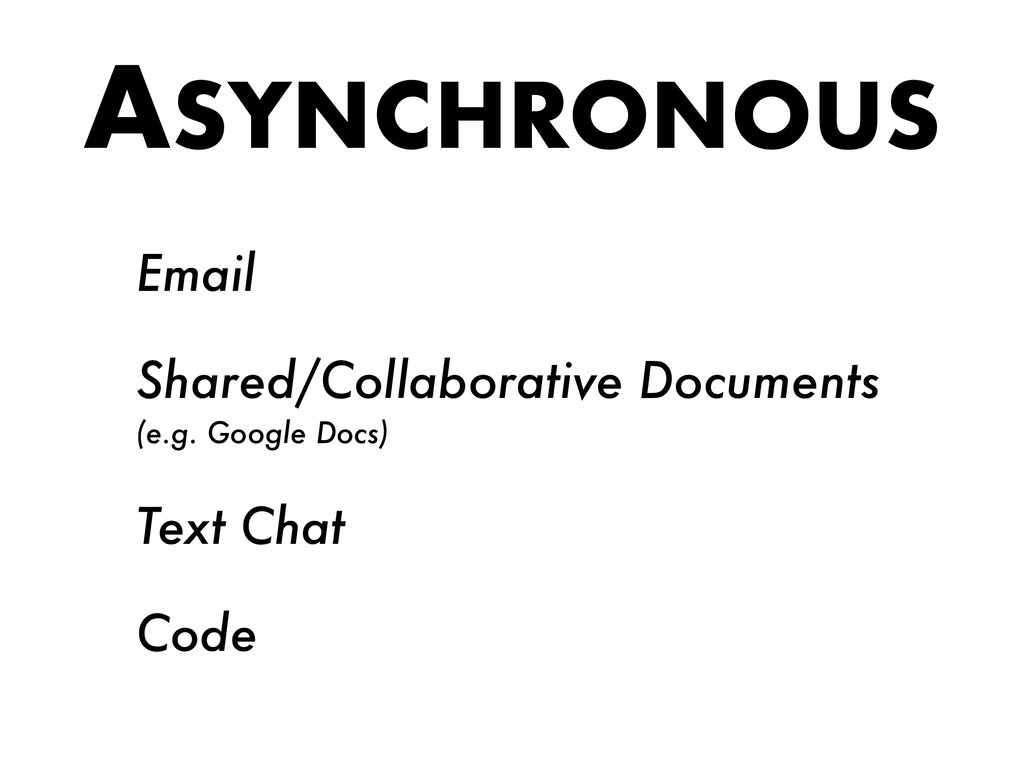 ASYNCHRONOUS Email Shared/Collaborative Documen...