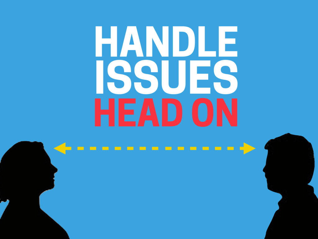 HANDLE (ISSUES HEAD ON