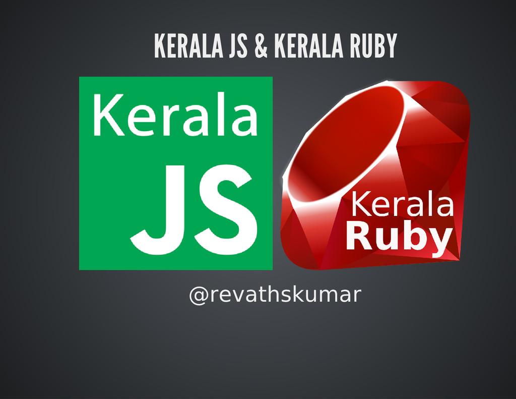 KERALA JS & KERALA RUBY @revathskumar