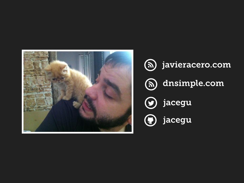 jacegu jacegu javieracero.com dnsimple.com