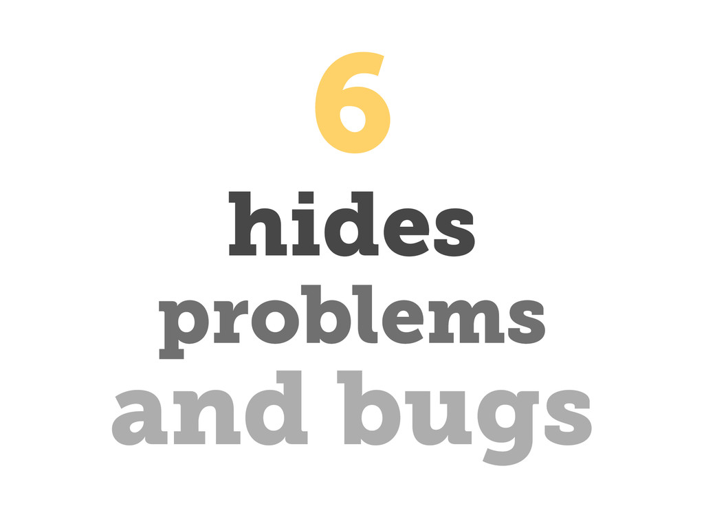 hides and bugs problems 6