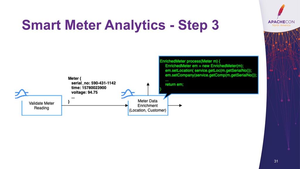 Smart Meter Analytics - Step 3 31