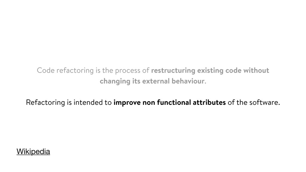 Code refactoring is the process of restructurin...
