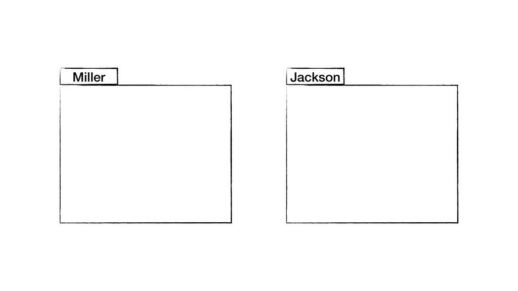 Miller Jackson