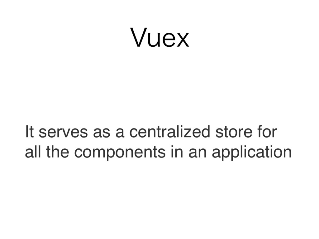 7VFY It serves as a centralized store for all t...