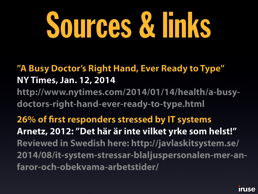 """Sources & links """"A Busy Doctor's Right Hand, Ev..."""