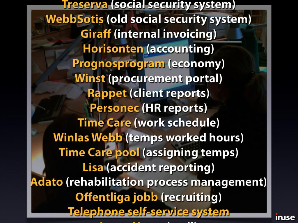 Treserva (social security system) WebbSotis (ol...