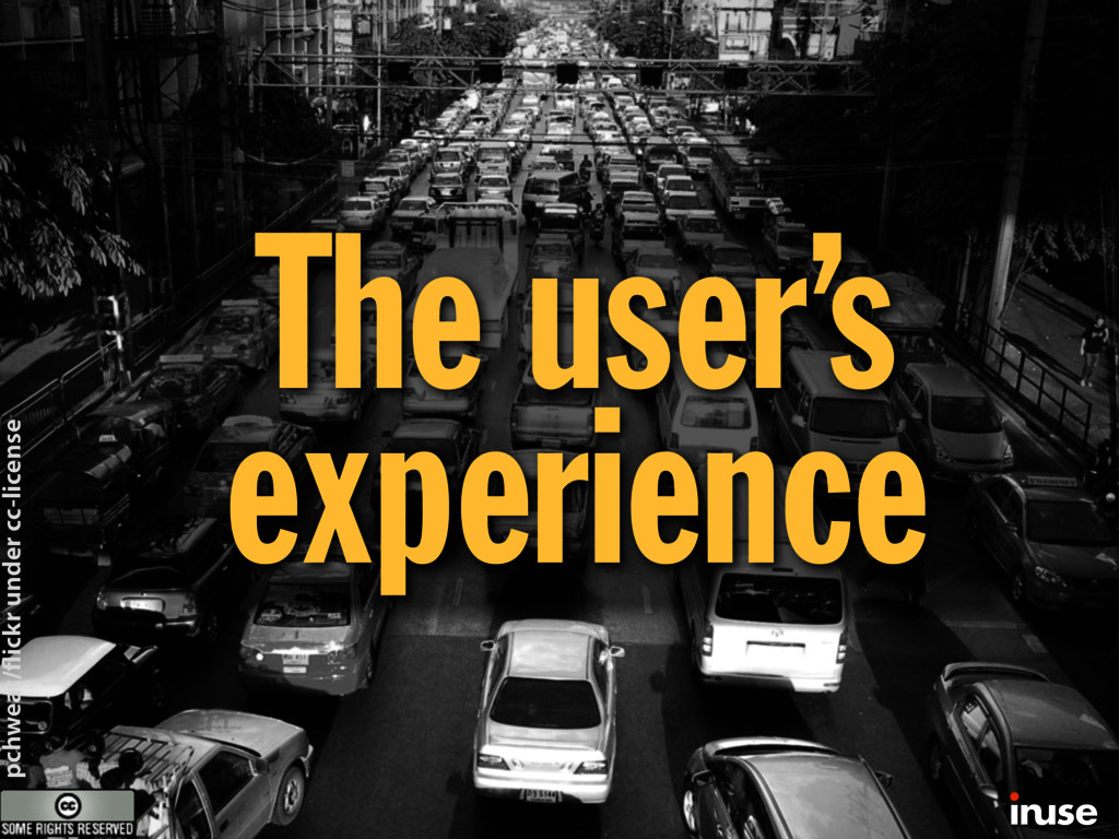 The user's experience pchweat/ ickr under cc-li...
