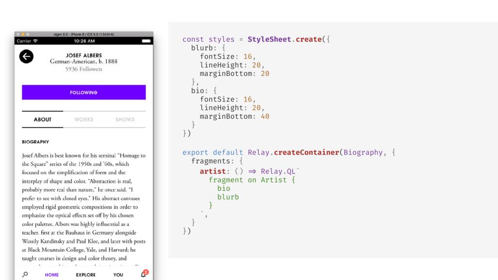 : null } } const styles = StyleSheet.create({ b...