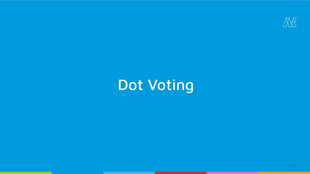 111 Dot Voting
