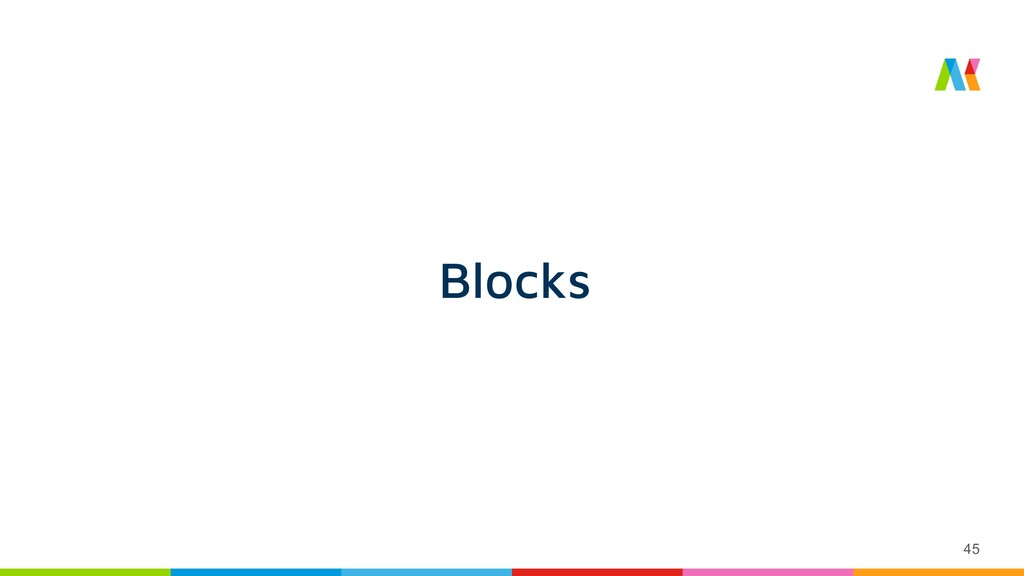 45 Blocks