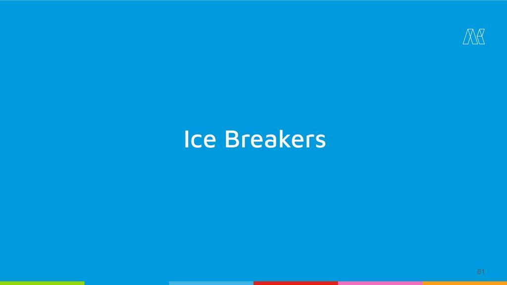81 Ice Breakers