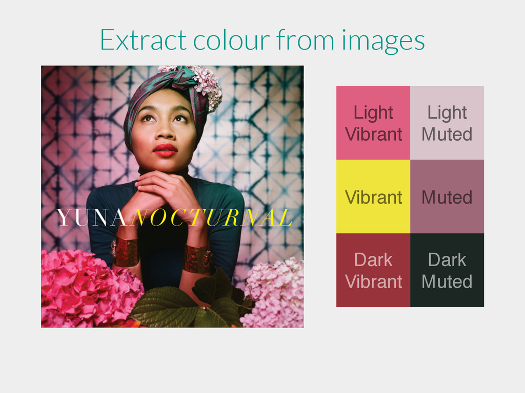 Light Vibrant Light Muted Muted Vibrant Dark Mu...