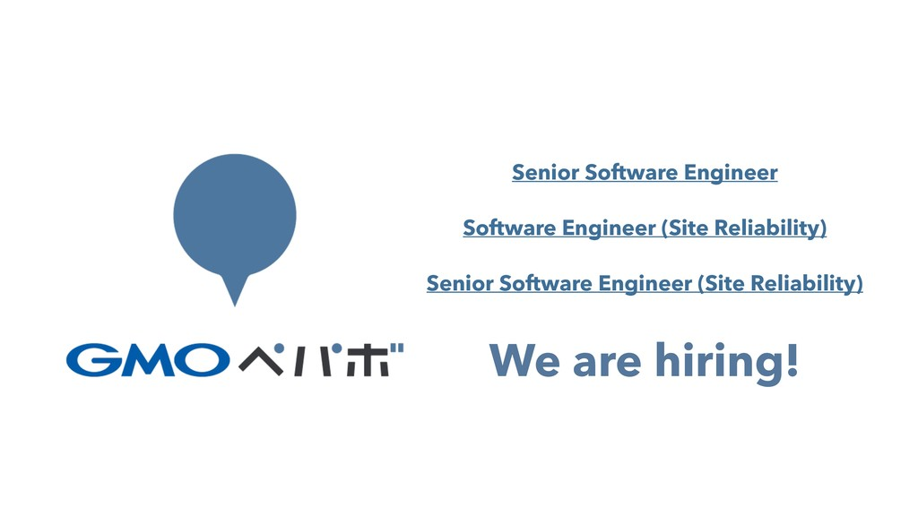 We are hiring! Senior Software Engineer Softwar...
