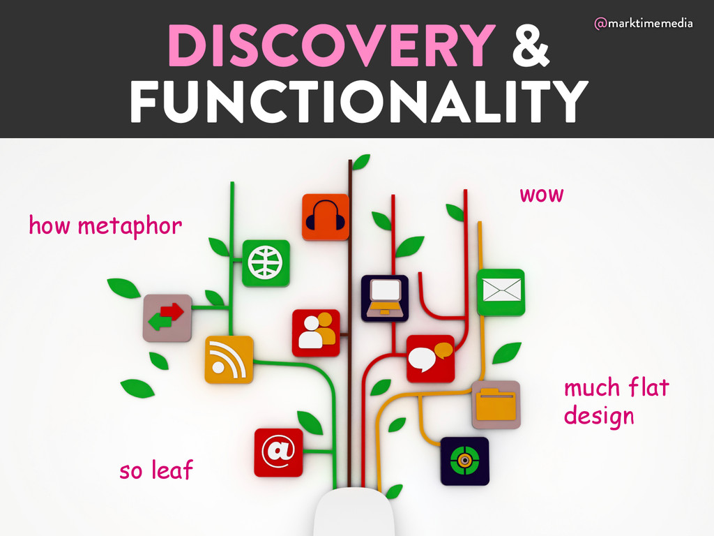 @marktimemedia DISCOVERY & FUNCTIONALITY wow so...