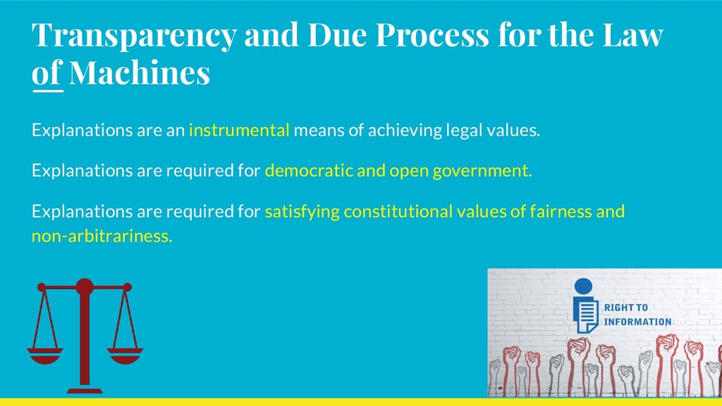 Transparency and Due Process for the Law of Mac...