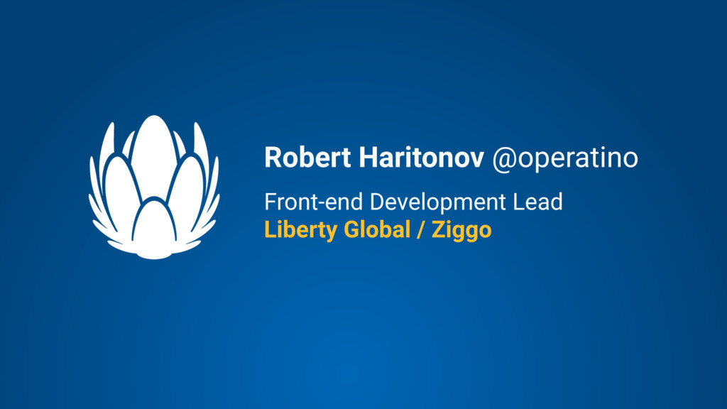 Front-end Development Lead Liberty Global / Zig...