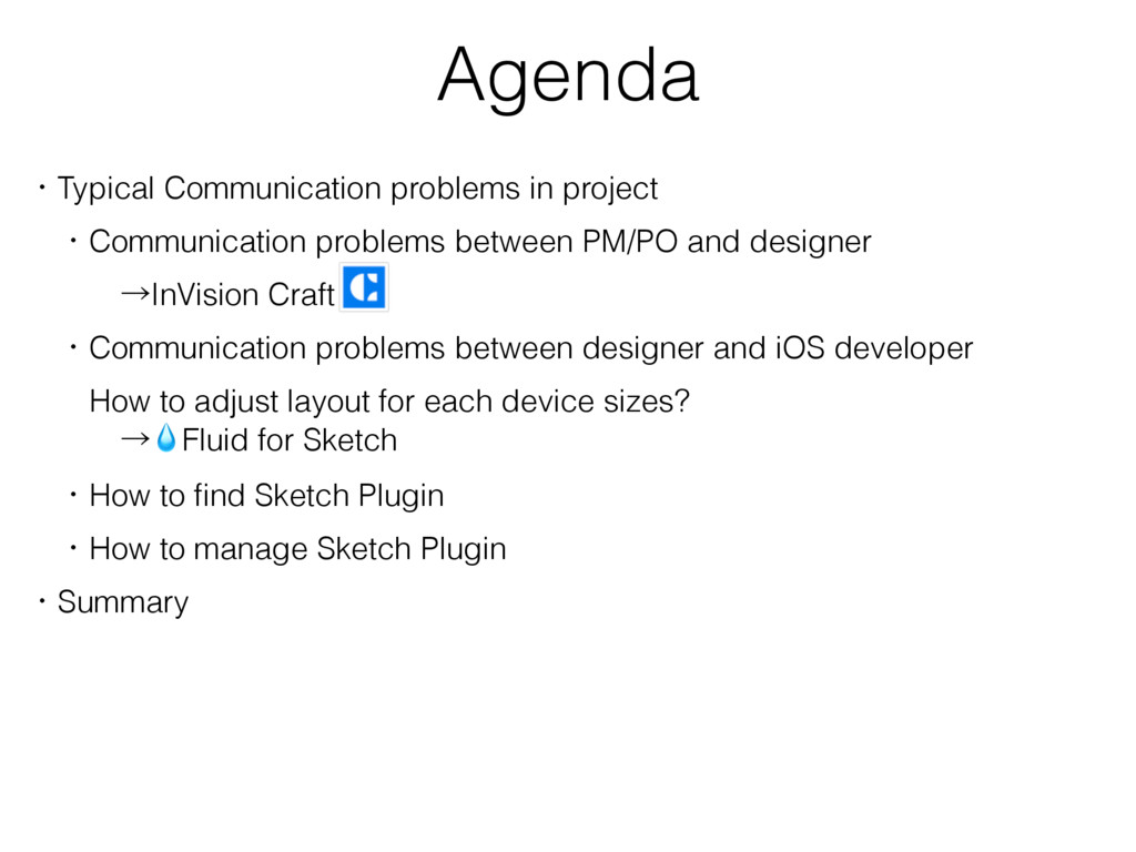 Agenda ɾTypical Communication problems in proje...