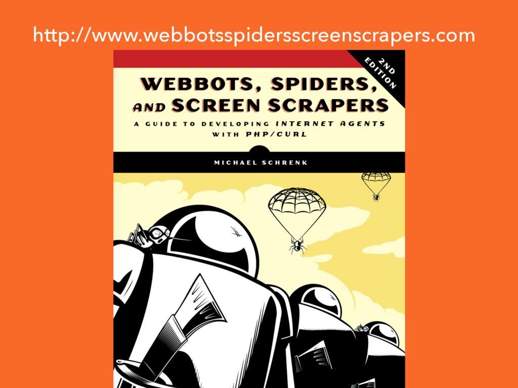 http://www.webbotsspidersscreenscrapers.com