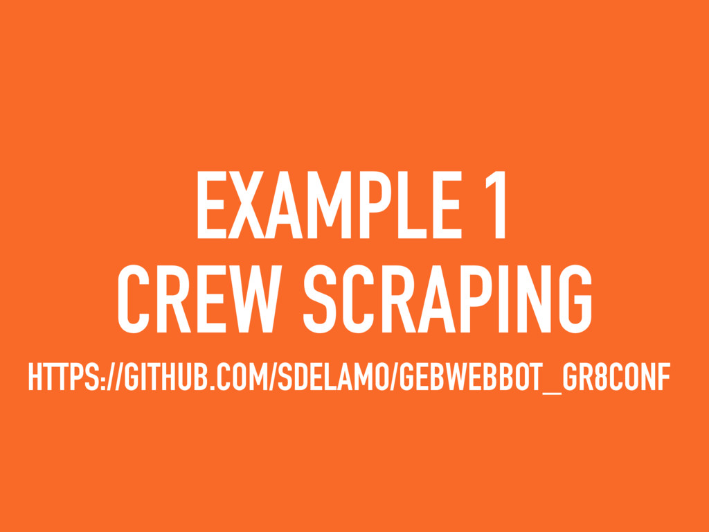 EXAMPLE 1 CREW SCRAPING HTTPS://GITHUB.COM/SDEL...