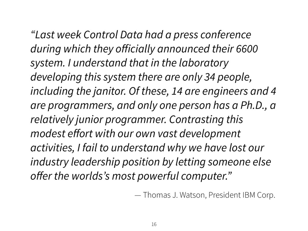 """Last week Control Data had a press conference ..."