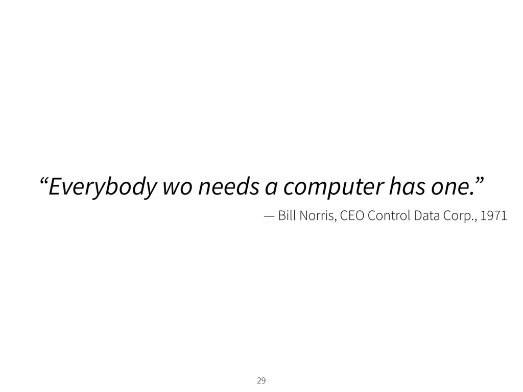 """Everybody wo needs a computer has one."" 29 — B..."