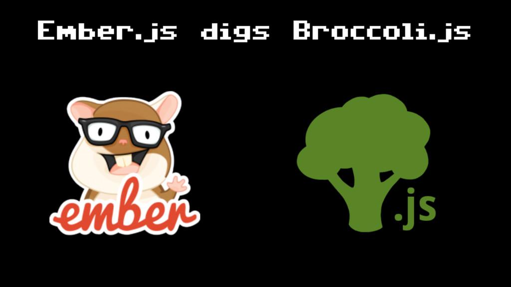 Ember.js digs Broccoli.js