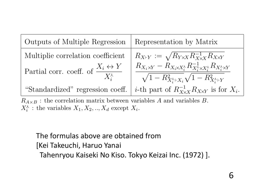 6 The formulas above are obtained from [Kei Tak...
